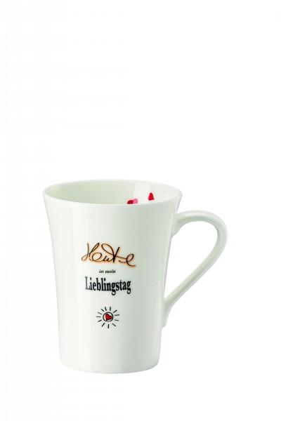 Hutschenreuther Henkelbecher Lieblingstag 0,4L