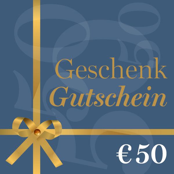 Geschenkgutschein €50