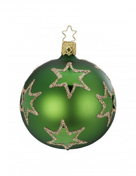 Inge's Christmas Decor Kugel 8cm Rising Star grün mat INGE'S CHRISTMAS