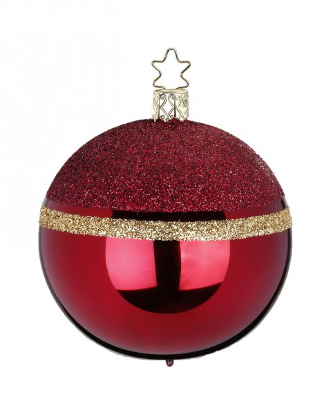 Inge's Christmas Decor Kugel 8cm Glitter Top ochsenbl INGE'S CHRISTMAS