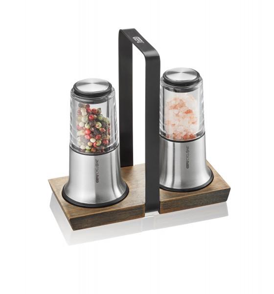 GEFU Salz- und Pfeffermühlen - Set X-Plosion mit Menage H14cm