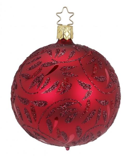 Inge's Christmas Decor Kugel 10cm Del. ochsenbl.matt INGE'S CHRISTMAS