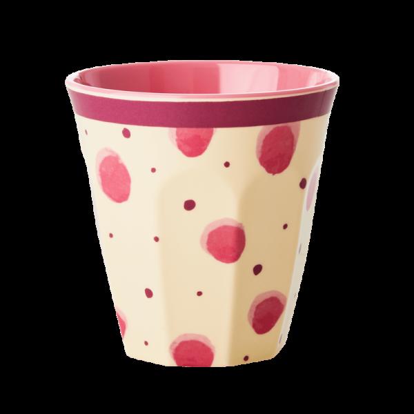 Rice Becher 9cm Pink Watercolor Spl.