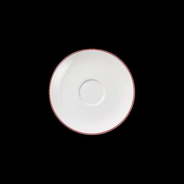 Dibbern Kaffeeuntere rot SIMPLICITY