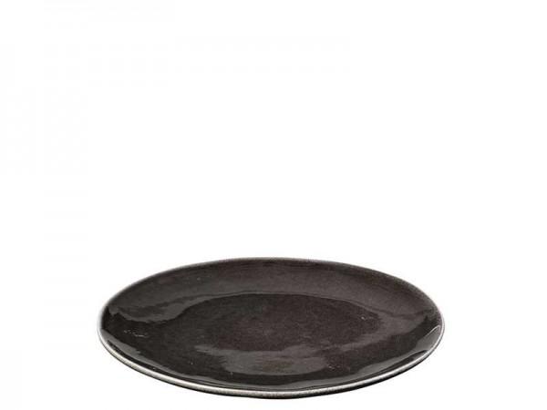 Broste Copenhagen Teller flach 26cm NORDIC COAL