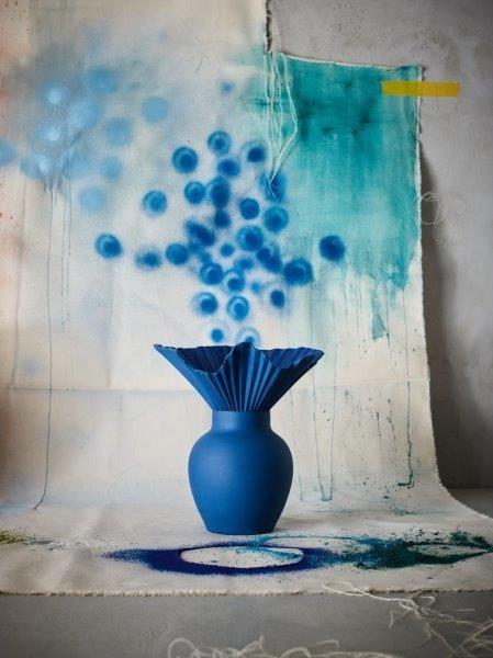 Rosenthal Vase 27cm FALDA MIDNIGHT