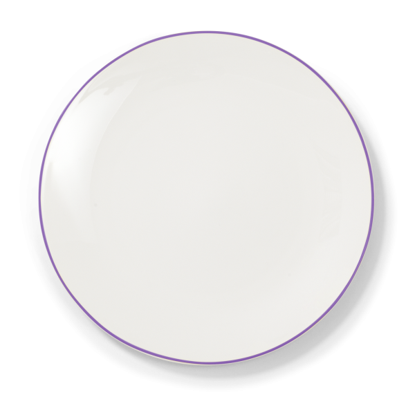 Dibbern Teller fl. 32cm violett SIMPLICITY