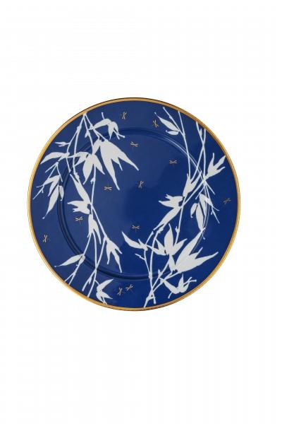 Rosenthal Platzteller 33cm ROSENTHAL HERITAGE TURANDOT BLUE