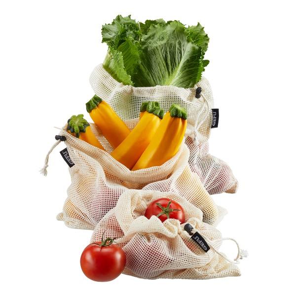 GEFU Obst/Gemüsebeutel 3 Stück