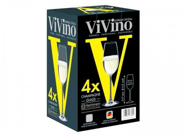 Nachtmann Champagnerglas 4 Stück VIVINO