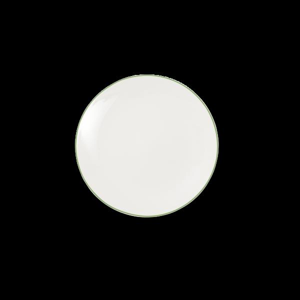 Dibbern Teller fl. 16cm grün SIMPLICITY
