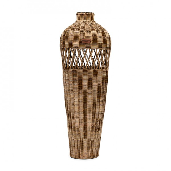 Rivièra Maison Vase Cross Weave RUSTIC RATTAN 90 x 89 x Ø 33