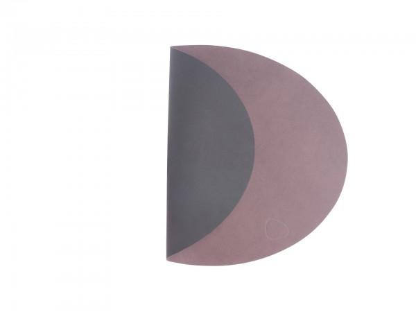 LindDNA Set oval 35x46 purple/black DOUBLE NUPO