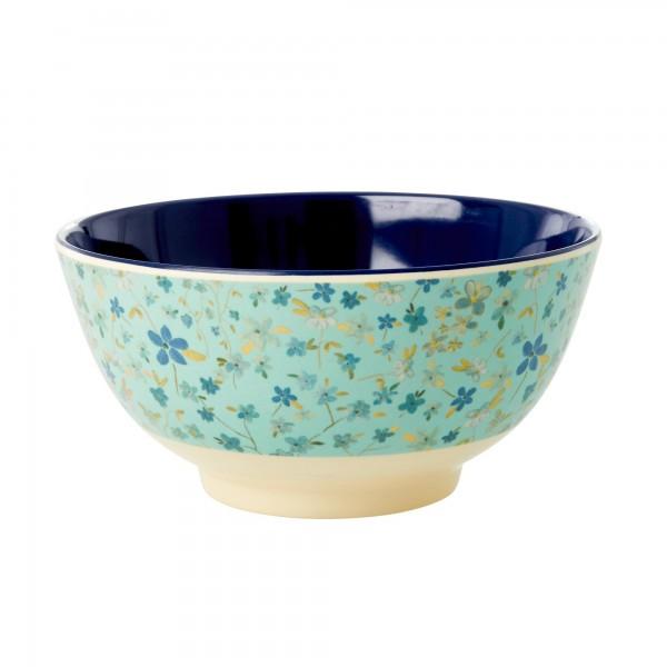 Rice Schale 15cm Blue Floral Print