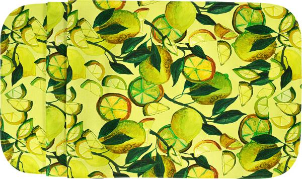 Sander Tischdecke 150x250 gelb BISTRO LIMONE abwischbar