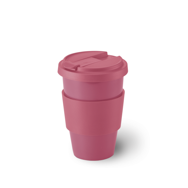 Dibbern Coffee to go Becher pink 0,35L