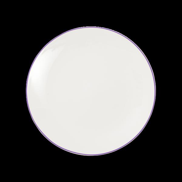 Dibbern Teller fl. 28cm violett SIMPLICITY
