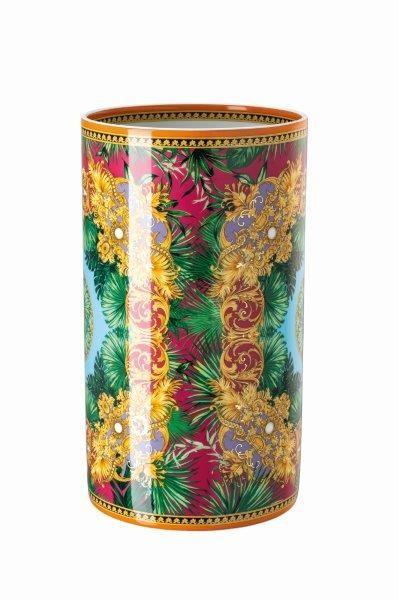 Rosenthal Vase 30cm VERSACE JUNGLE ANIMALIER