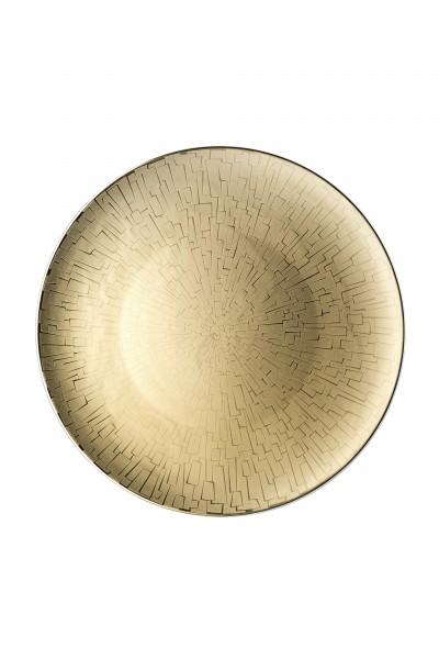 Rosenthal Platzteller 33cm TAC GROPIUS SKIN GOLD