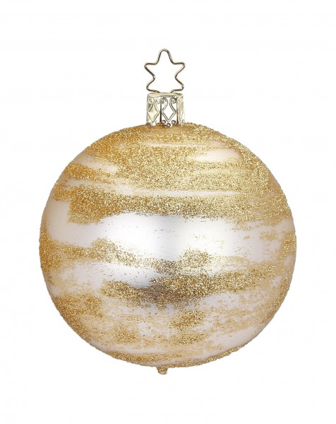 Inge's Christmas Decor Kugel 8cm Glitter.champ.matt INGE'S CHRISTMAS