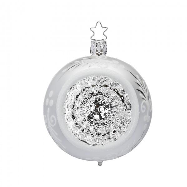 Inge's Christmas Decor Reflexkugel 8cm silber glanz INGE'S CHRISTMAS