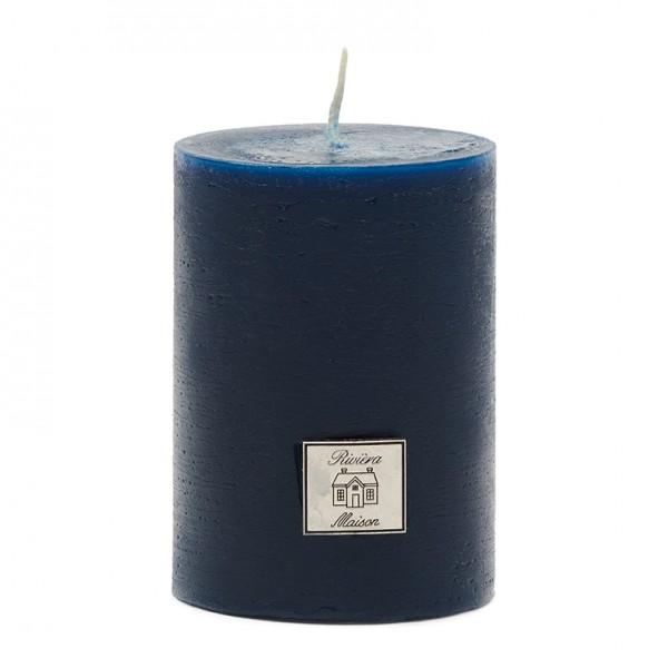 Rivièra Maison Rustic Candle dress blue 7x10 RIVIERA MAISON