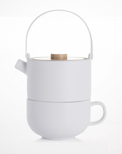 Bredemeijer Tea for one weiß Bambusd. 0,5L UMEA