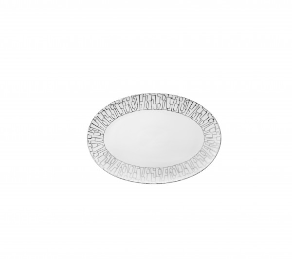 Rosenthal Platte 25cm TAC GROPIUS SKIN PLATIN
