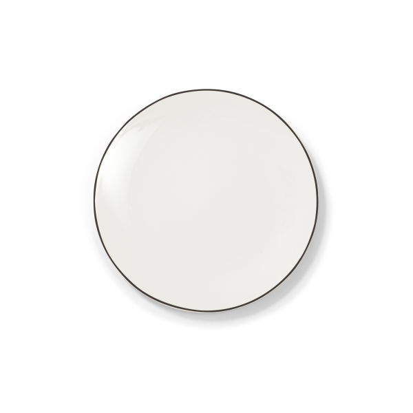 Dibbern Teller fl. 21cm schwarz SIMPLICITY