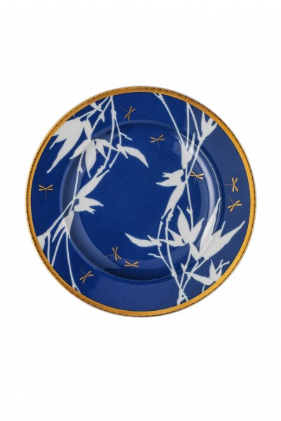 Rosenthal Teller flach 18cm ROSENTHAL HERITAGE TURANDOT BLUE