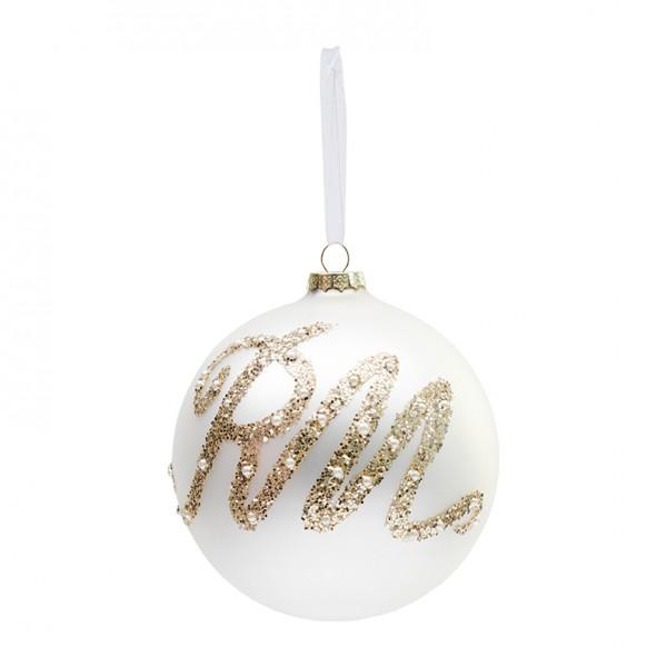 Rivièra Maison Ornament 12cm champ Glittering RIVIERA MAISON