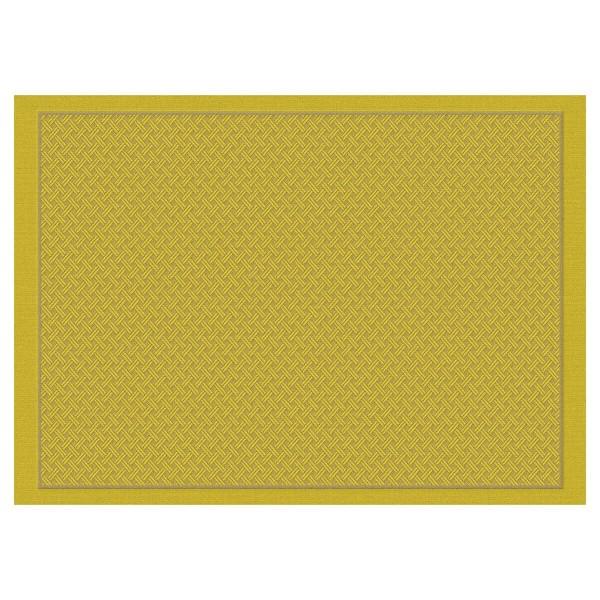 Le Jacquard Francais Set 50x36 Pollen BW beschichtet OSMOSE TRESSAGE