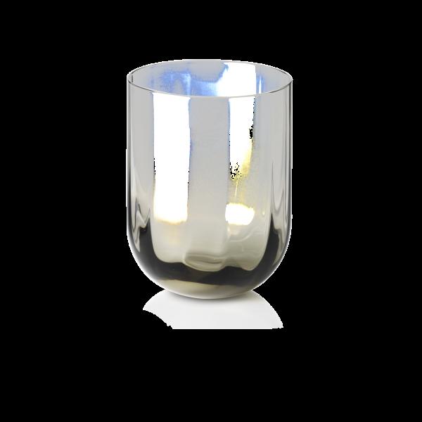 Dibbern Glas 0,25L grau ROTONDO OPTIC